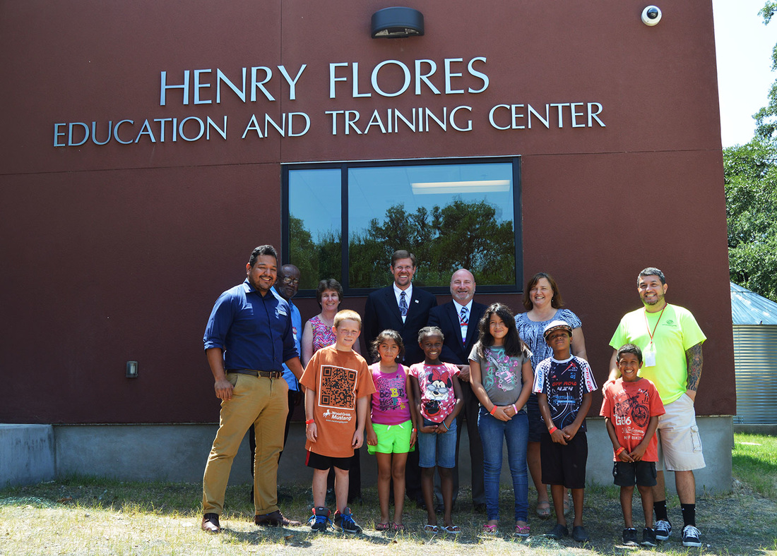 Housing America Visits Henry Flores Education and Training Center in Austin, Texas - Boys and Girls Club
